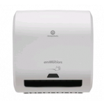 """enMotion Impulse 8"""" 1-Roll Automated Touchless Paper Towel Dispenser White"""