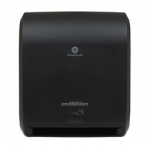 """ENMOTION BLACK 10"""" TOUCHLESS PAPER TOWEL DISPENSER WALL MOUNT/AUTOMATED"""