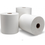 38040 Double nature Green Seal Controlled Roll Towel 8x800 White