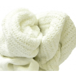 WHITE THERMAL BLANKETS 25#/CTN